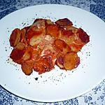 recette Gratin pommes de terre/ tomates aux herbes de provence