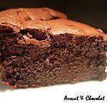recette **Moelleux, fondant au chocolat léger sans beurre (Bellevue de C.Felder) : La recette originale  ***