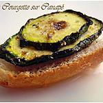 recette Courgettes sur Canapé
