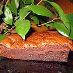 recette Gateau moelleux choco-amande amère REGIME