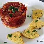 recette Ragoût d'haricots cornille et polenta grillée