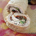 recette Roulades de dinde à la méditerranéenne