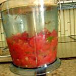 """recette Le coulis de """"légumes"""" d'été ... pour l'hiver"""