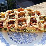 recette Tarte aux poireaux
