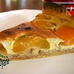 recette tarte à la banane, aux abricots et aux amandes
