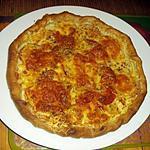 recette tarte à la tomates ,moutarde et mozarella