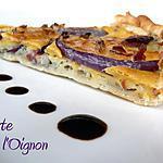 recette TARTE A L'OIGNON  ou ZEEWALAWAYA