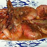 """recette Crevettes à la façon """"Sauveur"""" de maman"""