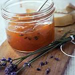 recette Marmelade d'abricots a la lavande,souvenir de vacances de la drôme provençale