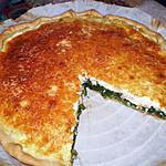 recette tarte aux épinards et au saumon