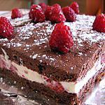 recette Petit gâteau aux framboises
