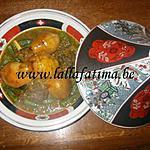 recette Tajine de coings et gombos