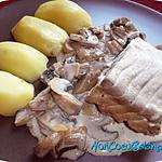 recette weight watcher : recette Filet de lieu noir braisé au cidre (weight watchers propoints)