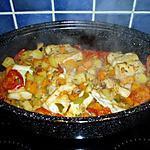 recette poissons aux légumes  mijotées