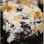 recette Brownies Pur Cacao en Dentelle de Coco