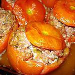 recette Tomates farcies à la chair à saucisse ....