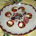 recette mini tarte feuilletté aux senteurs de provence