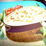 recette Tarte sans pâte aux courgette et àla tomate