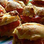 recette Petits choux au pavot et poivrons pour l'apéro