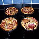 recette tartelettes aux figues à la crème d'amande
