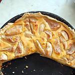 recette La tarte aux poires de dernière minute