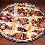 recette Tartes aux prunes