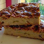 recette Quiche ravioles et courgettes