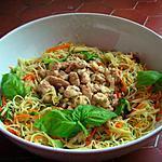 recette Capellini aux Légumes & Parmiggiano reggiano
