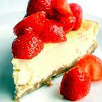 recette Cheesecake à la Marinade de Fraises