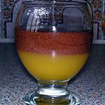 recette Mousse au chocolat sur sa gelée d'orange
