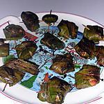 recette Poulet frit aux feuilles de pandan