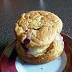 recette Bouchées pistaches/griottes (prépa 10mns)