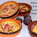recette Gratin de mangue & figues aux senteurs de pain d'épices