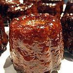 recette Cannelés bordelais chocolatés