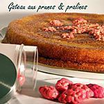 recette Ooo Gateau aux prunes & pralines  ooO