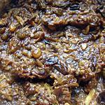 recette Dessert aux dattes et raisins