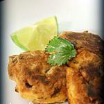 recette galettes de poisson à la thaïe