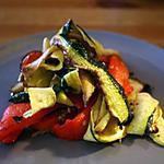 recette salade des légumes grillés
