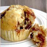recette Muffins aux Flocons d'Avoine & Pépites de Chocolat au Lait