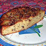 recette gâteau poire-noisettes