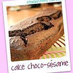 recette gateau choco sésame fondant sans beurre ni crème !