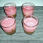 recette semoule au lait Tagada ® michocos banane