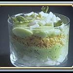recette oeufs mimosas à l'espumas d'asperge