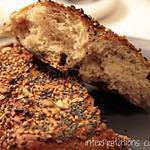 recette bagels maison cranberry & graines