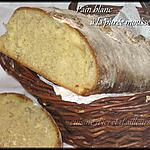 recette Pain blanc à la purée mousseline