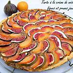 recette Ooo Tarte à la crème de noisettes, figues & prunes jaunes ooO