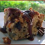 recette Gâteau Pommes Noix de Pécan & Sauce Caramel Autant en Emporte le Vent