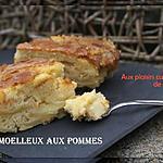 recette MOELLEUX AUX POMMES CROQUANT ET CRAQUANT