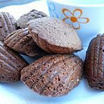 recette Madeleines au chocolat et au jambon fumé