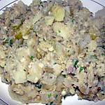 recette Pommes de terre à la baba ghanouch